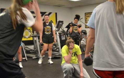 Gallery: Stars hoops team starts practice