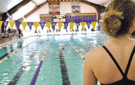 STA swim team competes against Blue Springs High School