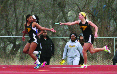 Track team competes in first meet