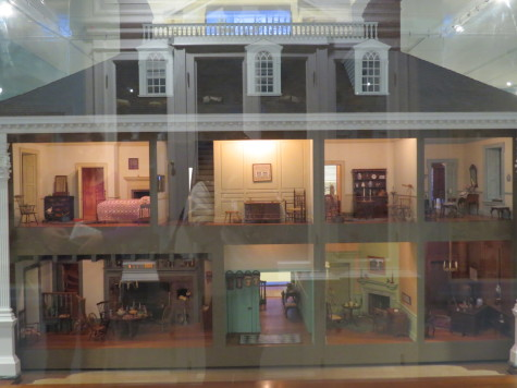 A dollhouse at the National Museum of Toys and miniatures. photo by Christina Kirk