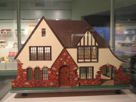 A dollhouse modeled after a Ward Parkway home