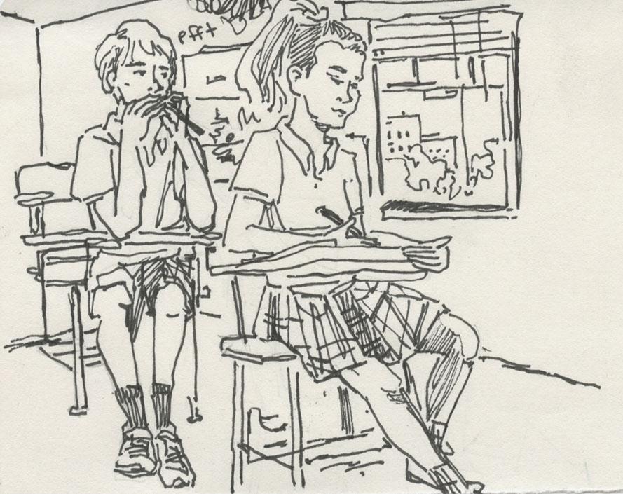 illustration by Ellie Grever