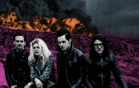 Dodge and Burn album artwork, courtesy of thedeadweather.com