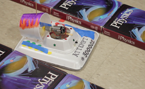 DartTube: Physics Hovercrafts