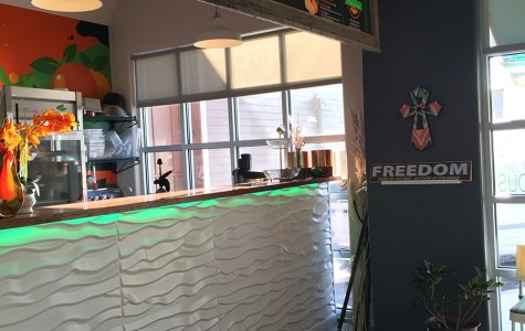 Ruby Jean's has an extensive menu with items ranging from their signature juices to smoothies and protein-filled snacks. photo by Meredith Mulhern