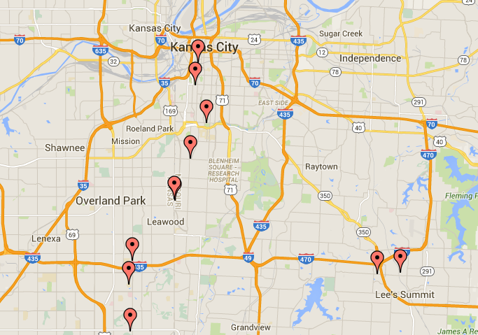 Stars at work: an interactive job map