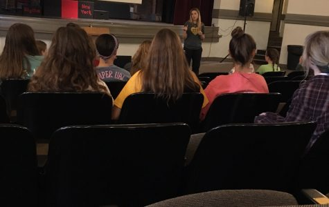 National Honors Society holds fall meeting