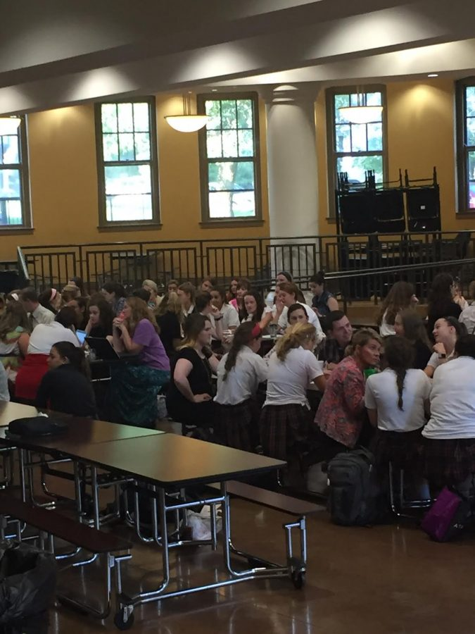 The advisory workshop took place Sept. 7 in the commons. photo by Natalie Telep