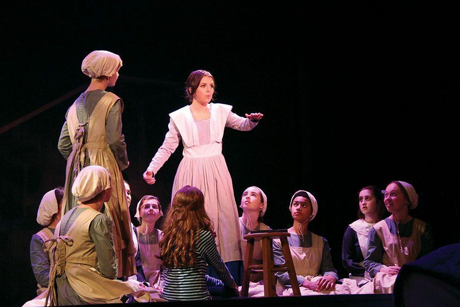 Senior+Libby+Terril+plays+Jane+Eyre+during+her+days+as+a+school+teacher.+photo+by+Helen+Wheatley