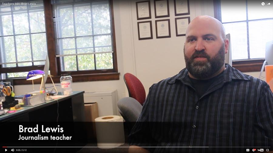 Teachers 101: Brad Lewis