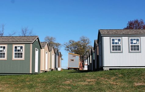 Tiny homes being built to house homeless veterans