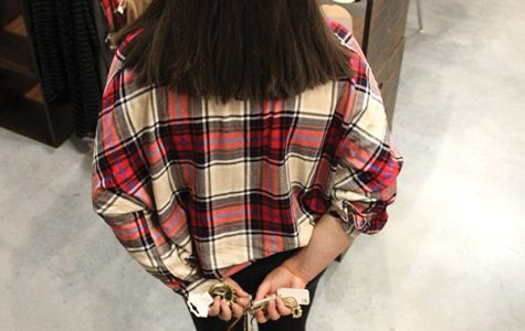 Stealing a glance into shoplifting