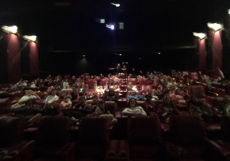 Ward Parkway AMC theaters hosted STA students and faculty today for a showing of