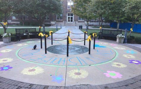 STA responds to recent events with chalk drawings and an all school assembly
