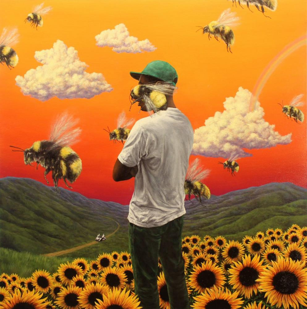 The album cover of Flower Boy, Tyler, The Creator's most recent album. photo courtesy of The Sights and Sounds Music Magazine