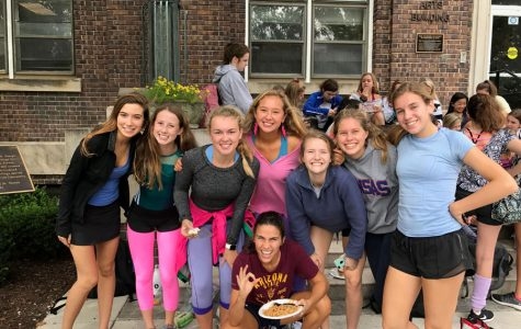 Students dress up for the first Teresian spirit week
