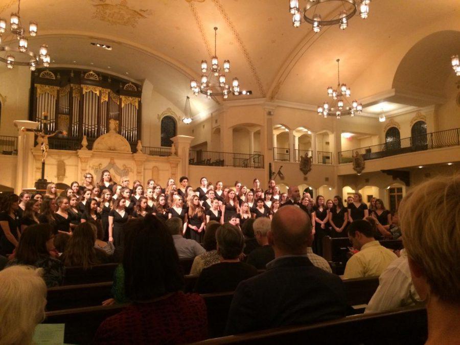 Autumn choir concert held at Visitation Parish