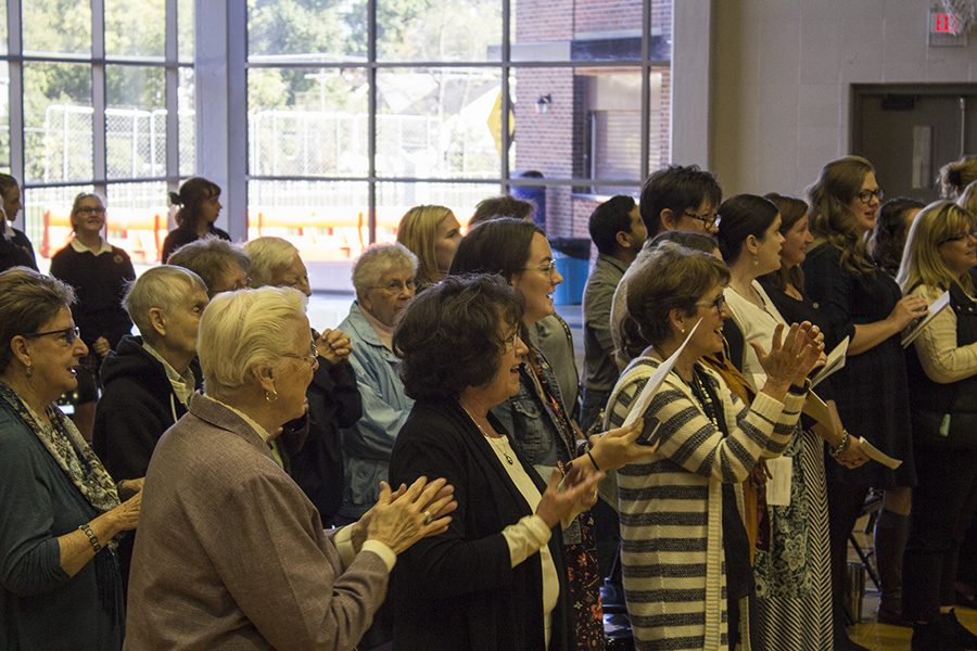 Students attend St. Teresa of Avila prayer service