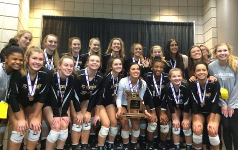 Varsity volleyball places third at State