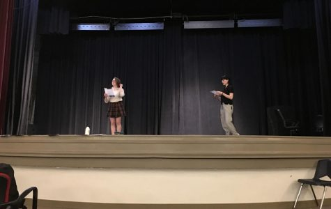 """Theater department holds auditions for """"Blue Stockings"""""""