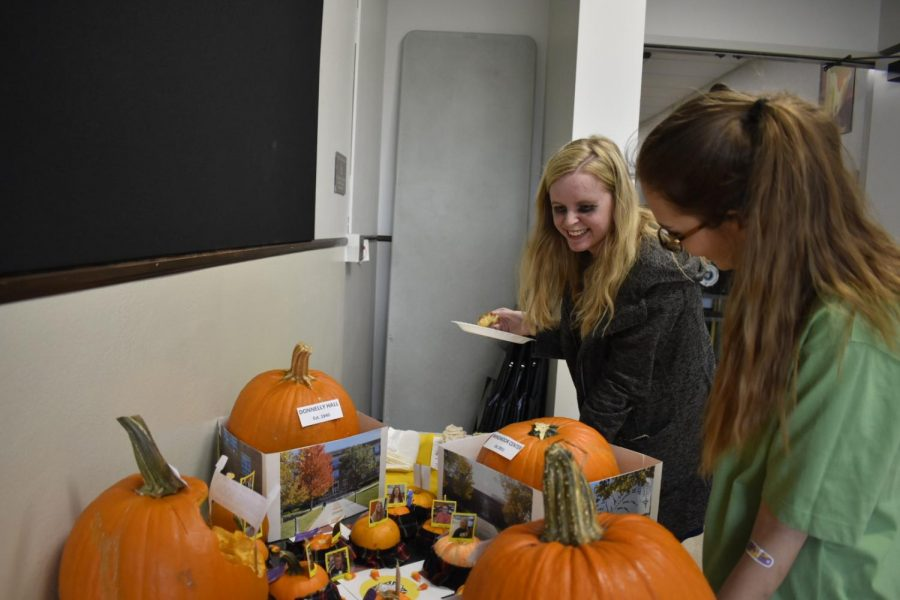 The annual Halloween carving contest takes place on Oct. 31. photo by Grace Fiorella