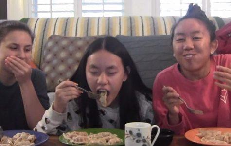 Woman Vs Food: Eleven dumplings in one minute