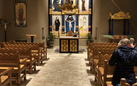 Campus Ministry meets for weekly mass at Visitation