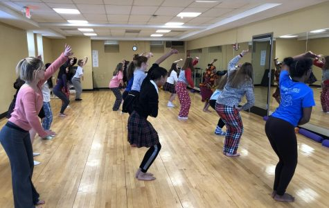 Dance club sponsors West African dance class
