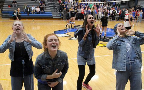 Gallery: Rockhurst v. STA volleyball