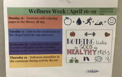 Wellness Week starts off with coloring