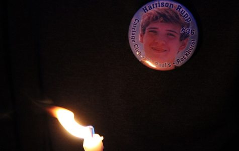 Candlelight vigil held in remembrance of Harrison Rupp