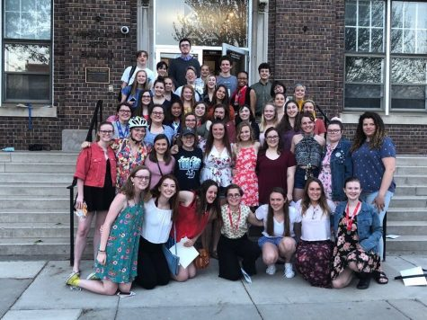 Seniors finish off their high school theater career with Performing Arts Banquet
