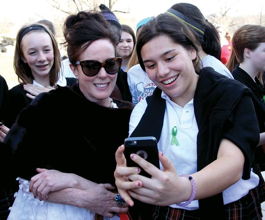 Alumna Kate Spade is dead at 55
