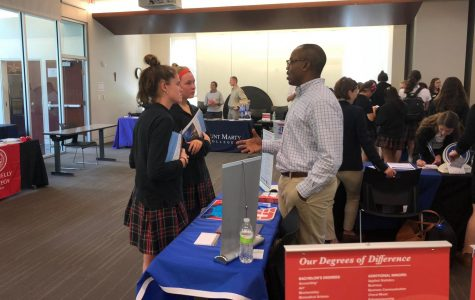 STA hosts Catholic colleges fair