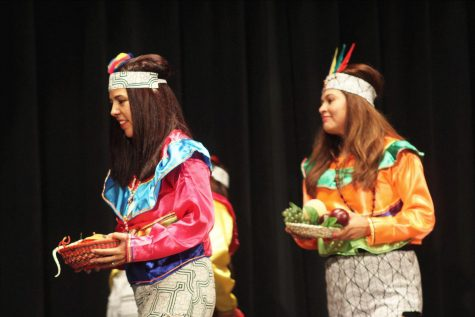 Cultural dances performed for Hispanic Heritage Month