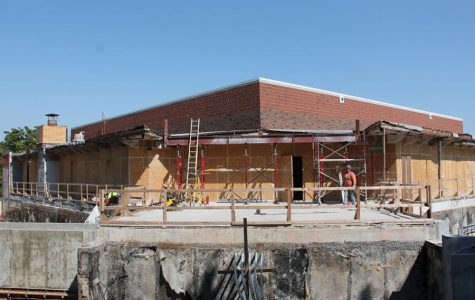 Breaking ground and rebuilding it: the Goppert renovation takes shape
