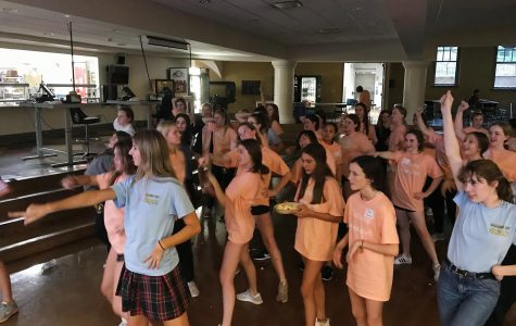Freshman class attends retreat