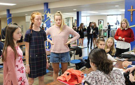 STA students participate in debate tournament at St. Pius