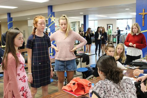 CSJ club hosts tea party