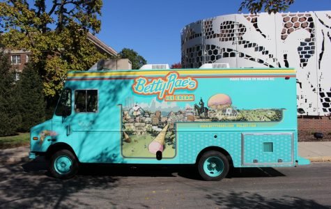 Betty Rae's truck visits STA