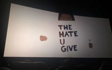 "Student body attends private screening of ""The Hate U Give"""