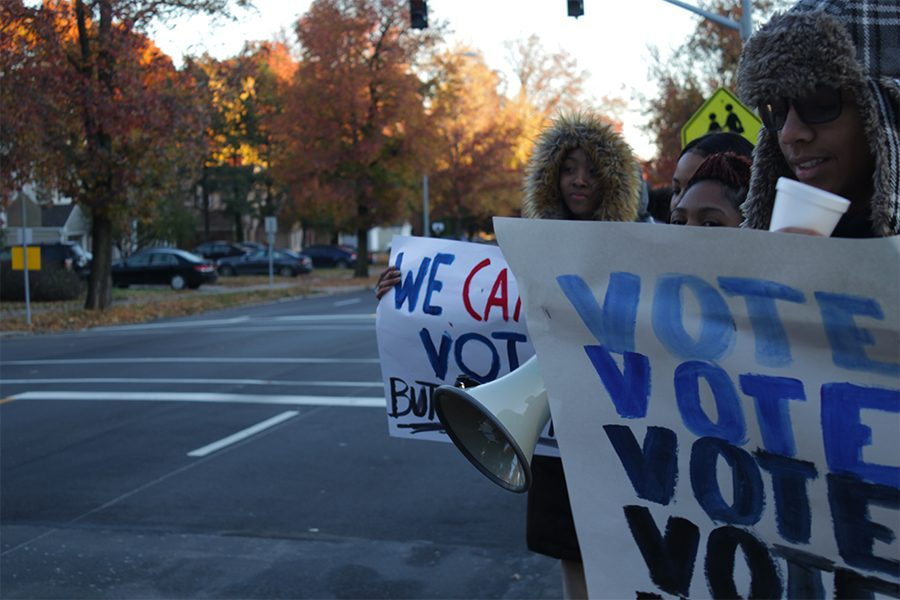 High school students make their mark on the midterms