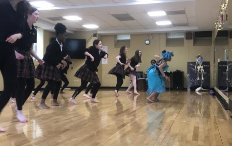 Dance Club hosts African dance Class