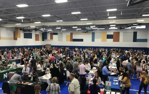 Rockhurst High School hosts college fair