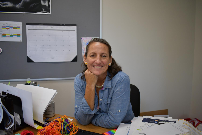 Mimi Harman- New STA theology teacher. photo by Katie Massman