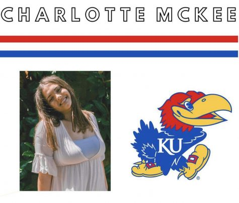 Senior Charlotte McKee will be attending University of Kansas - Lawrence Apr.20. McKee will be majoring in marketing and communications. photo courtesy of @seniorstars_2020.