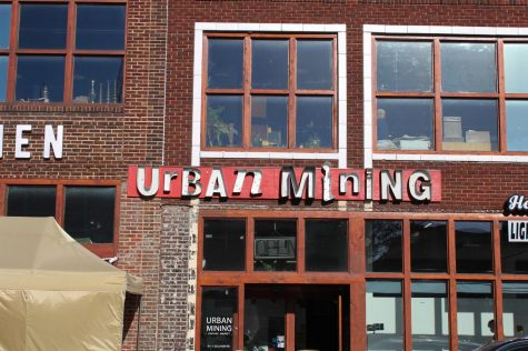 Renowned Kansas City vintage store, Urban Mining, had their monthly sales event Sept. 3.  The store is only open the first weekend of each month.