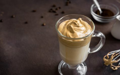 Tik Tok's whipped coffee became known among most teens during quarantine, this picture was taken May 16. With large amounts of free time, most teens tried to make the popular recipe that circulated the app. photo courtesy of Tribune News Service