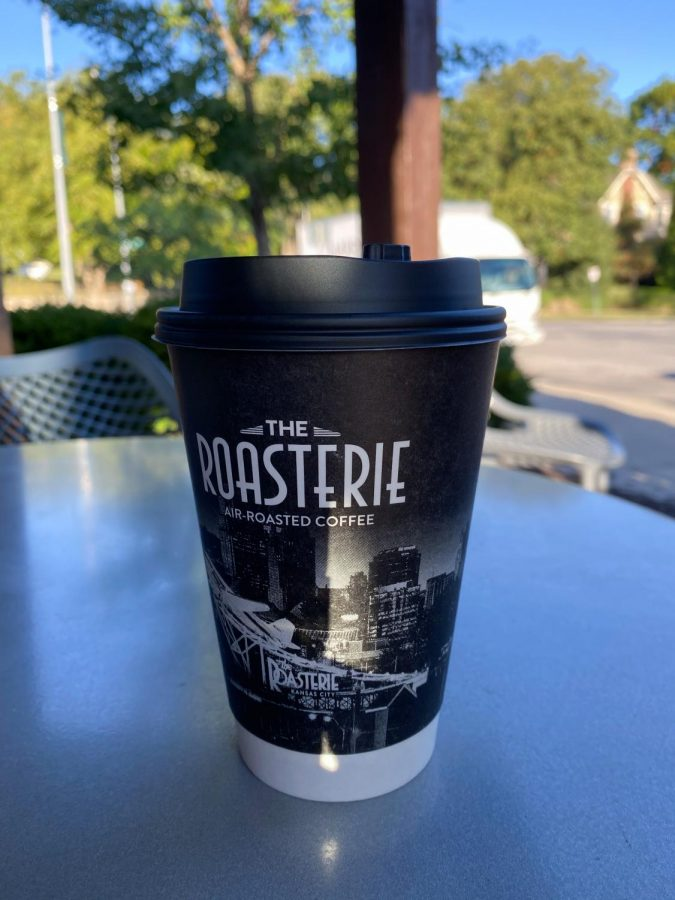 The Roasterie offers a pumpkin spice latte on its fall menu Oct. 1. The coffee shop has locations in Brookside, Leawood, Lenexa and Downtown Kansas City. photo by Sophia Rall