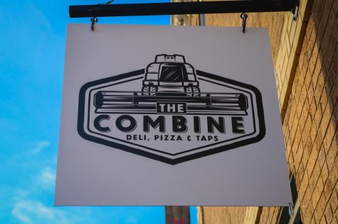 The grand opening of the new restaurant, The Combine, is located on Troost Avenue Dec. 8. It is a locally owned restaurant, as the Pryor family now own it. photo by Becca Speier
